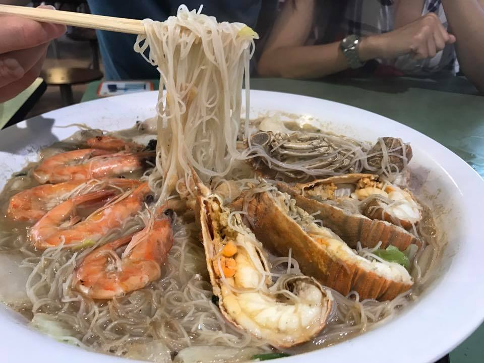 Woon Woon Pek Beehoon – Steady Seafood White Beehoon in the East