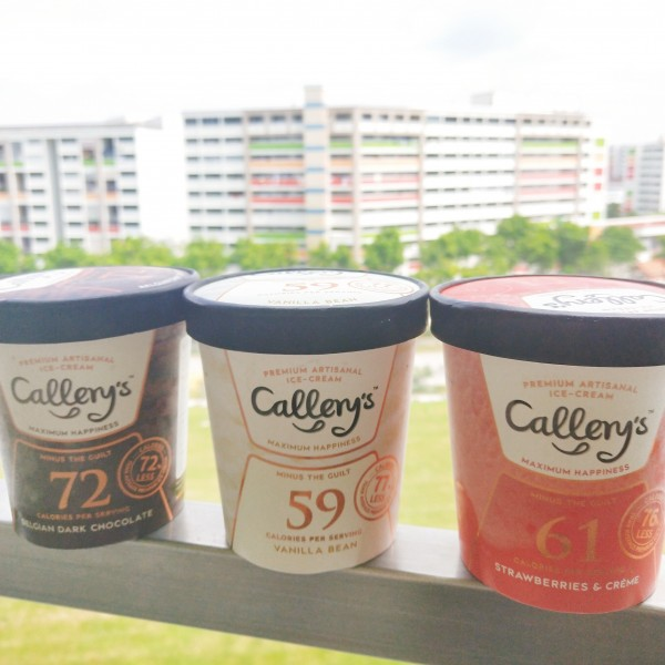 Callery's Ice Cream – With Callery's, indulge in less calories!