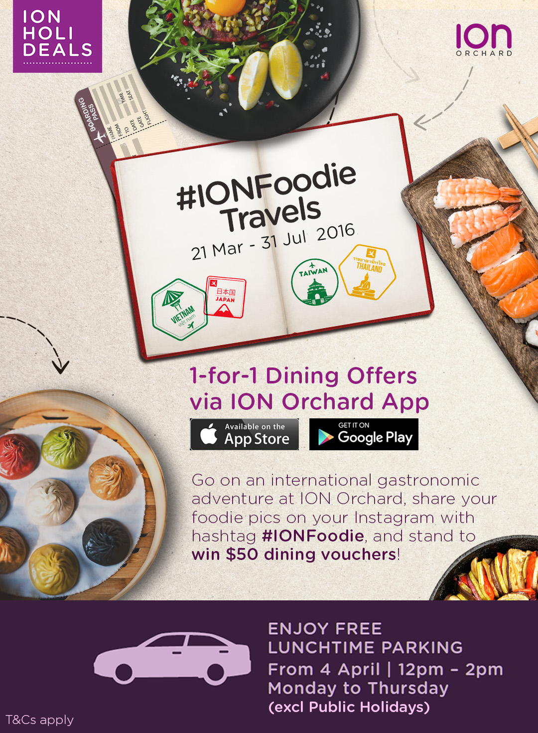 [Closed][Deals] 1-for-1 deals at ION Orchard!